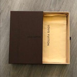 Louis Vuitton Gift Box + Dust Bag